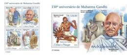 Z08 ST190204ab Sao Tome And Principe 2019 Mahatma Gandhi MNH ** Postfrisch - Sao Tomé E Principe