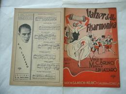 SPARTITO MUSICALE VALZER DELLA FISARMONICA BRUNO-E.DI LAZZARO YENNI. - Altri
