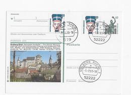 Mooie Postkaart Met Postzegel Uit Stolberg En Duidelijke Stempels - BRD