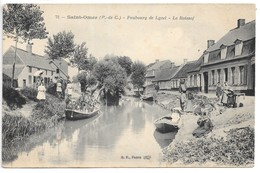 Saint-Omer...(P.-de-C.)...Faubourg De Lyzel...le Roiesof...animée ... - Saint Omer