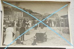 Photo BOULOGNE SUR MER Entrée De La Plage Hôtel De La Plage Circa 1910 - Lieux