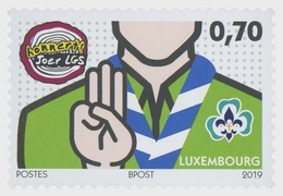 H01 Luxembourg 2019 100 Years Of 'Letzebuerger Guiden A Scouten' MNH Postfrisch - Luxemburgo