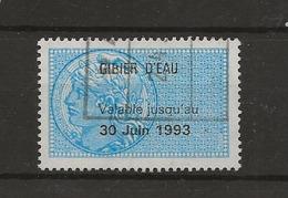 FISCAUX PERMIS DE CHASSE N°190 GIBIER D'EAU 1993 - Fiscaux