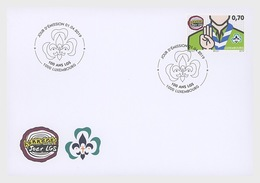 H01 Luxembourg 2019 100 Years Of 'Letzebuerger Guiden A Scouten' FDC - Neufs