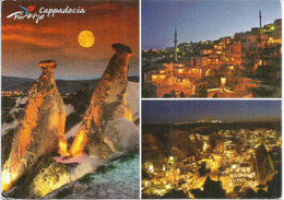 Cappadocia Landscape, Belle Carte Postale De Turquie, Adressée Andorra, Avec Timbre à Date Arrivée - Turquie