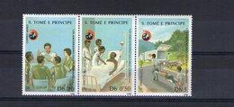 Sao Tome. Centenaire De La Croix Rouge - Sao Tome Et Principe