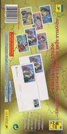 FRANCE 6 Env PAP Prêt à Poster Avec Carte N°YT 3115-3120 -1997 Héros D'aventures - Enteros Postales