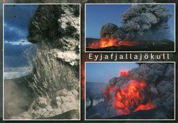 1 AK Island Iceland * Ausbruch Des Vulkans Eyjafjallajökull Im Jahr 2010 * - Islande