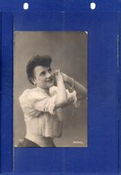 ##(ROYBOX2)- Young Woman, B.N.K. Edition  32793/1- Used In Russia 1908 - Donne