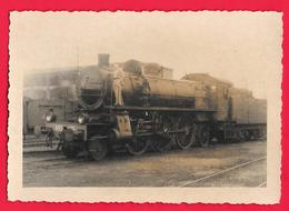 TRENO TRAIN LOCOMOTIVA FS Locomotive à Vapeur (train, Chemin De Fer) - Treni