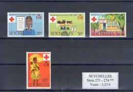 Sychelles. Centenaire De La Croix Rouge - Seychelles (1976-...)