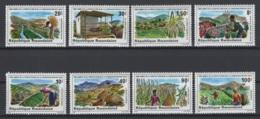 République Rwandaise. 1980. COB N° 1020/27 **, MNH. Cote 2018 : 7 € - Rwanda