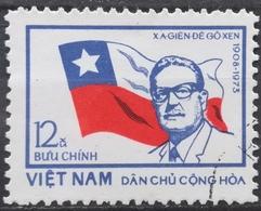 1973 NORTH VIETNAM Salvador Allende Chilean President - Vietnam