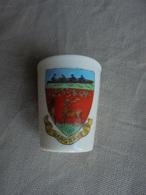 Ancien Petit Verre En Porcelaine Arcadian China Souvenir De Wargrave - Obj. 'Remember Of'