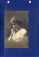 ##(ROYBOX2)- Young Woman, K.B.Juno Edition  537/6 - Used In Russia 1914 - Donne