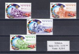 Tonga. Membre Du Commonwealth Depuis 30 Ans - Tonga (1970-...)