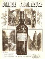 """PUB    """" GRANDE CHARTREUSE  """"   1907 ( 1 ) - Alcohols"""