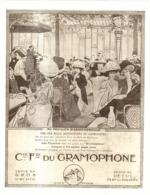 """PUB """" COMPAGNIE FRANCAISE De GRAMOPHONE   """" 1907 ( 1 ) - Technical"""