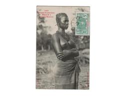 FEMME MALINKE  ... EROTISME ... SEINS NUS ... TOPLESS - Sénégal