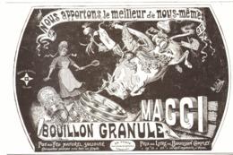 "PUB PRODUITS  "" MAGGI ""    1907 ( 2 ) - Boîtes"