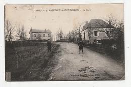 SAINT JULIEN LE VENDOMOIS - LA GARE - 19 - Francia