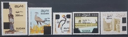 HX - Sudan NEW 2019 Complete Set 5v. MNH - REVALUED Previous Issues, IMPRESSIVE HIGH FACE VALUES Only 1500 Issued- Birds - Sudan (1954-...)