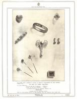 "PUB BIJOUX  "" TECLA ""   1908 ( 3 ) - Autres"