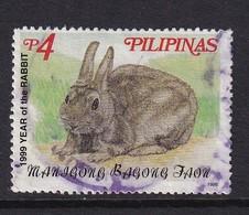 Philippinas 1998, Rabbit, Minr 2997, Vfu - Philippines