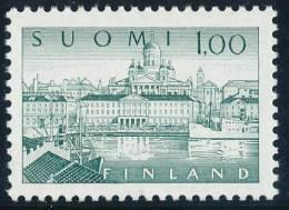 FINLAND 1974, M-63 Definitive PHOSPHOR Helsinki Harbour 1,00 EGpQ** - Finlandia