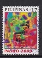 Philippinas 2003, Pasko, Minr 3450, Vfu. Cv 2,20 Euro - Philippines