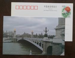 The Pont Alexandre III Arch Bridge Spans The Seine,Paris,CN 03 Famous European Tourism Attractions Pre-stamped Card - Ponti