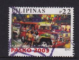 Philippinas 2003, Pasko, Minr 3452, Vfu. Cv 2,80 Euro - Philippines