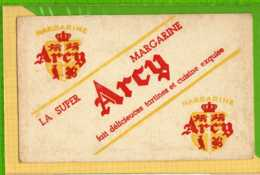 Buvard & Blotting Paper : Margarine ARCY  La Super - Produits Laitiers