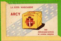 Buvard & Blotting Paper : Margarine ARCY  La Super Bleu - Produits Laitiers