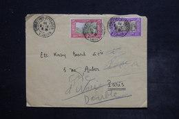 NOUVELLE CALÉDONIE - Enveloppe De Nouméa Pour Paris En 1939 , Affranchissement Plaisant - L 26502 - Briefe U. Dokumente