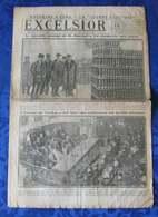 L'EXCELSIOR De 1917 N° 2287 - A La Une : M. BISSOLATI, JOURNEE CONSACREE AUX USINES - Journaux - Quotidiens
