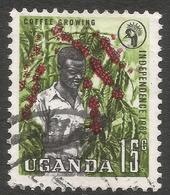 Uganda. 1962-64 Independence. 15c Used. SG 101 - Uganda (1962-...)