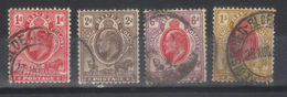 ORANGE      N°s 39,40,44,45 (1903) - Oranje-Freistaat (1868-1909)