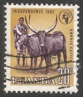 Uganda. 1962-64 Independence. 20c Used. SG 102 - Uganda (1962-...)