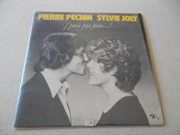 VINYLE 33 T PIERRE PECHIN  SYLVIE JOLY J'PEUX PAS JOUER .....! - Humor, Cabaret