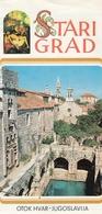 Starigrad Island Hvar Croatia Old Guide Brochure Prospect Depliant - Dépliants Touristiques