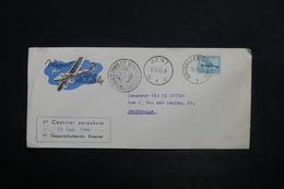 BELGIQUE - Enveloppe 1 Er Courrier Parachuté De Bruxelles En 1946 Pour Gentbrugge - L 26507 - Belgium