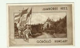 """**1 X Souvenir **------------"""""""" JAMBOREE  1933 """""""" ---------------- - Scoutisme"""