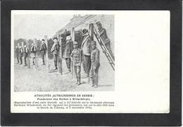 CPA Sebie Serbia Non Circulé Exécutions Autriche Krouchévatz - Serbia