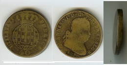 Portogallo - Portugal: 40 Reis 1823 - Pataco (Joannes VI) - Portogallo