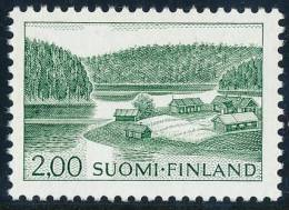 FINLAND/Finnland, M-63 Definitive PHOSPHOR Farm By Lake 2,00 EGpQ** - Finlandia