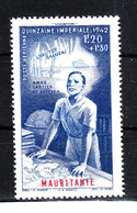 Mauritania  Amm. Francese - 1942. Cartografo. Cartographer. MNH - Geografia