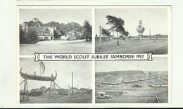 """**1 X""""""""  THE  WORLD SCOUT JUBILEE  JAMBOREE  1957 """""""" ---------------- - Scoutisme"""