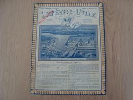 DOCUMENT PUBLICITAIRE LEFEVRE-UTILE BISCUITS LU 1932 - Publicidad