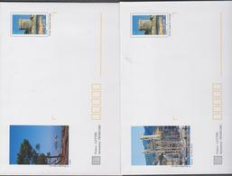 FRANCE 5  Petites Enveloppes PAP Prêt à Poster Tour Génoise Bastia N°YT 3598 5 Cartes  Haute Corse - 2005 - Entiers Postaux